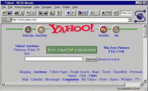 Yahoo Homepage 1993