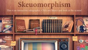 Example of Skeuomorphism